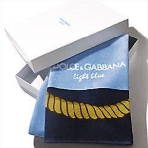 Dolce & Cabanna Light Blue Towel! 💥